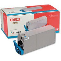 Oki C7000 Toner Cartridge Cyan 41304211
