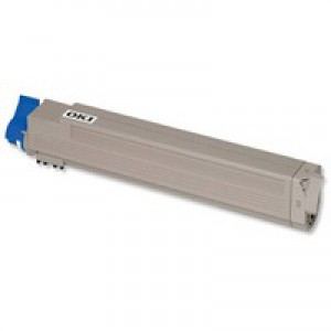 OKI Laser Toner Cartridge Page Life 7300pp Magenta Ref 44643002