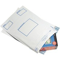 Postsafe Extra Strong Polythene Envelope 400x430mm Opaque Pack of 100 P27