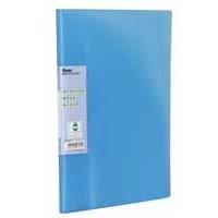 Pentel Recycology Display Book Vivid 30-Pocket Blue DCF343C