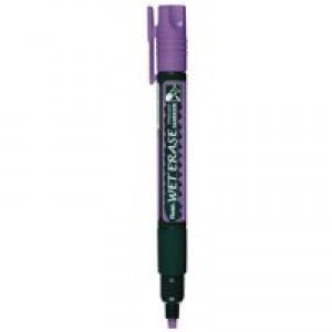 Pentel Chalk Marker Chisel Tip Pack of 7 Assorted SMW26/7
