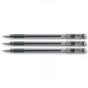 Pentel Superb Medium Ballpoint Pen Black BK77M-A