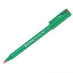 Pentel Ball Pentel Rollerball Pen Fine 0.4mm Line Red R50-B