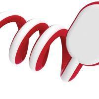 Gumbite Red Laci Cable Organiser 12354505