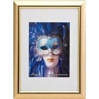 Photo Album Company Certificate Frame A4 Satin Gold PELA4GLD-NG