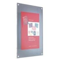 Acrylic Wall Picture Frame Magnet Closure with Fixings A3 Clear