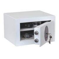 Phoenix Fortress High Security Burglary Safe White 1181