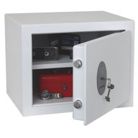 Phoenix Fortress High Security Burglary Safe White 1182