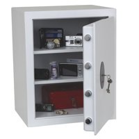 Phoenix Fortress High Security Burglary Safe White 1183