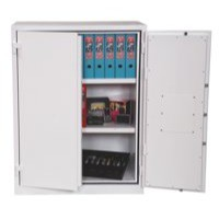 Phoenix Fire Ranger Safe Size 2 Key Lock White FS1512K