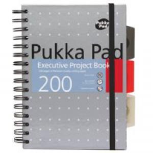Pukka pads A5 Pukka Executive Metallic Project book  6336-met