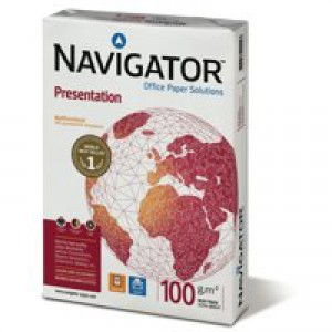 Navigator Presentation Paper A4 100gsm White Ream NAVA4100