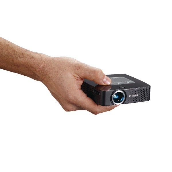 Philips PicoPix Pocket Projector 55 Lumens With Integrated MP4 Player Ref PPX2450