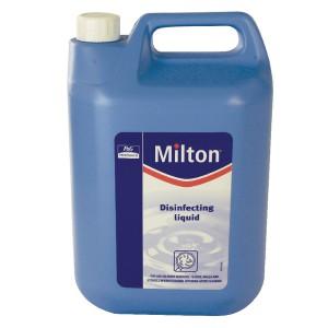 Milton Sterilising Liquid 5 Litre 5413149513662