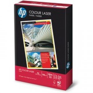 Hewlett Packard Colour Laser Paper A4 120gsm White Pack of 250 HCL0330A1