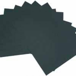 RDI Office Card A4 Black Pack of 20 240gsm BCA420