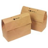 Image for Rexel Shredder Sack 50 Litre Recycled 2102441