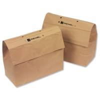 Image for Rexel Mercury Paper Bags 2102063 Pack of 20