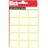 Blick Label Bag 19x25mm White Pack of 105 2