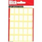 Blick Label Bag 12x18mm White Pack of 175 8
