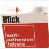Blick Dispenser Label 13mm White Pack of 2800 RS005056