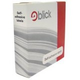 Blick Dispenser Self-Adhesive Label 19mm Red Pack of 1280 RS012054