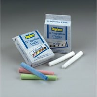 Stephens Chalk White Sticks Hanging Pack of 12