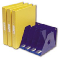 Image for Rotadex 7-Section A4 Ring Binder Rack Blue A4R/7