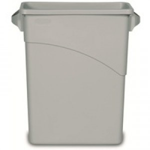 Newell Slim Jim Bin Base 60 Litre Grey 3541-GRY/R001192