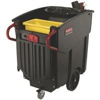 Newell Mega Brute Mobile Waste Collector 450 Litre Black 9W71-00-BLA