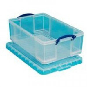Really Useful 50 Litre Box Clear 710x440x230mm