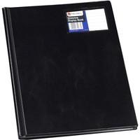 Rexel Slimview Display Book A4 12-Pocket Black 10005BK
