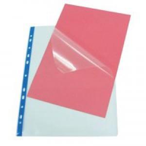 Rexel Nyrex Pocket PVC Clear Pack of 25 NRBA42 11031