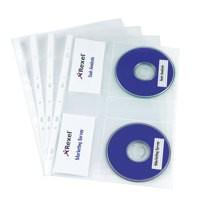 Image for Rexel Nyrex CD Pocket Pack of 5 2001007