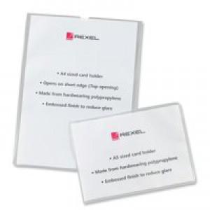 Rexel Nyrex Card Holder Open On Short Edge A5 Polypropylene Code 12093