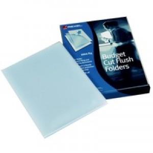 Rexel Budget Folder Polypropylene A4 Pack of 100 12182