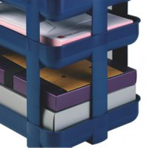 Rexel Agenda2 Risers Blue Pack of 5 2101020