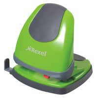 Rexel Easy Touch Low Force 2 Hole Punch Capacity 30x 80gsm Green Ref 2102643