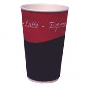 Robinson Young Caterpack 35cl Ripple Wall Hot Cup Pack of 25 RY00750