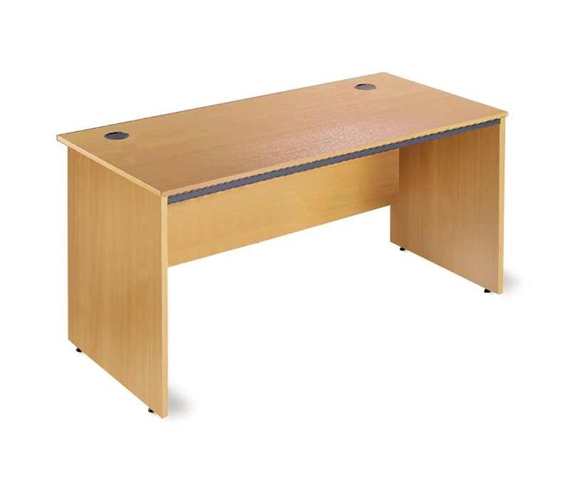 Maestro 1532w P-End Str Desk Beech