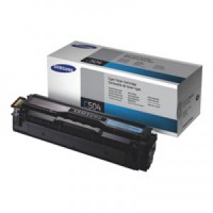 Samsung Laser Toner Cartridge Cyan Code CLT-C504S/ELS