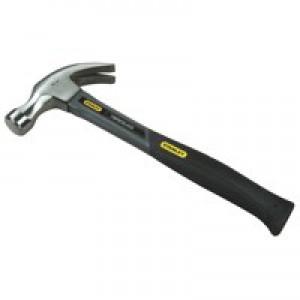 Stanley Fibre Glass Claw Hammer 16oz Grey 1-51-529