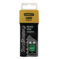 Image for Stanley SharpShooter Heavy Duty 8mm 5/16 Type G Staples (Pk 1000) 1-TRA705T