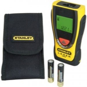 Stanley TLM 99 Laser Measure Yellow STHT1-77138