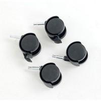 Image for Castor Set for HB-4068 Black 369048 Pk4