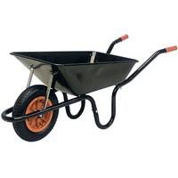 Heavy Duty Wheelbarrow Black 379990