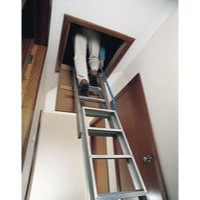 Loft Ladder 3380mm Aluminium 306688
