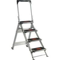 Safety Step Aluminium 4-Tread 306895