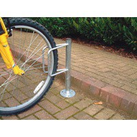 Cycle Holder Post Mounted Bolt Down 306938