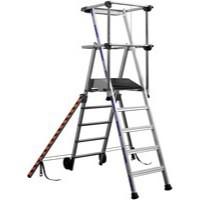 Work Platform 3-Tread Silver 307569